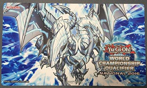 遊戯王 WCQ 2016 公式 プレイマット 青眼の双爆裂龍