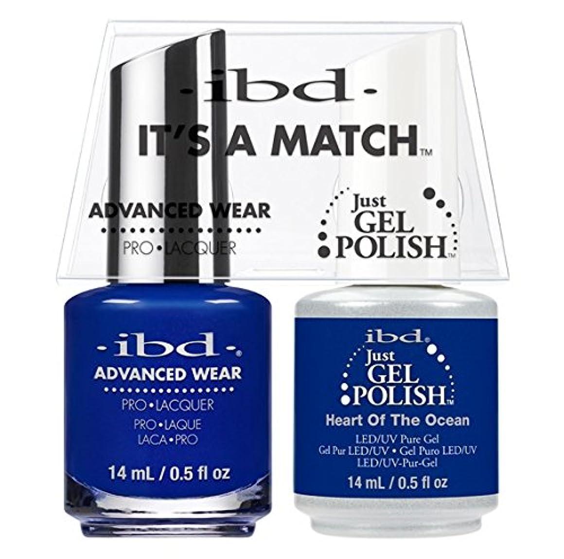 反論反論者喪ibd - It's A Match -Duo Pack- Heart of the Ocean - 14 mL / 0.5 oz Each