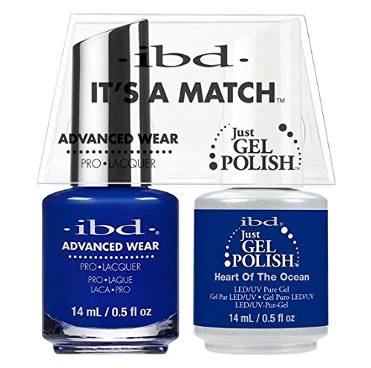 ぎこちない別々にマザーランドibd - It's A Match -Duo Pack- Heart of the Ocean - 14 mL / 0.5 oz Each