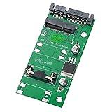 PACHAM mSATA SSD 50mm to 2.5 インチSATA 3.0 22pin 変換アダプター