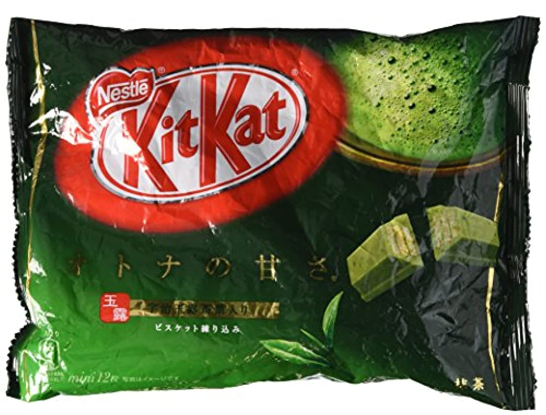 ミリメーター予見するノーブルネスレ キットカット Kitkat ミニ オトナの甘さ 抹茶 12枚