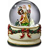 Holiday TreasuresクリスマスJourney Snow Globe by San Francisco音楽ボックス