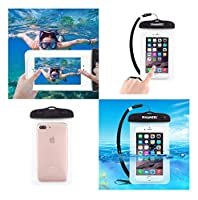 DFV mobile - Universal Protective Beach Case 30M Underwater Waterproof Bag for => BLU D750U STUDIO X 5.0 (2015) > Transparent