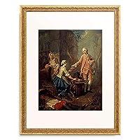 Charpentier d.A,Jean-Baptiste,1728-1806 「Eine Obstverkauferin.」 額装アート作品