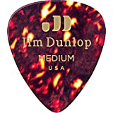 Dunlop 483P05MD Genuine Celluloid, Shell, Medium, 12/Player's Pack