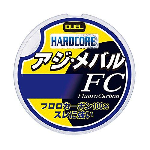 デュエル(DUEL) フロロカーボンライン ハードコア アジ・メバル FC 150m 0.5号 2.0Lbs. ナチュラルクリア H3448