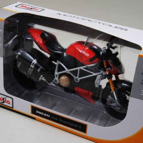 ドゥカティ 1/12 Maisto Ducati Mod. StreetFighter S バイク/マイスト/SportsBike/スポーツバイク/オンロ...