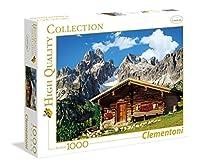 1000ピース ジグソーパズル Clementoni オーストリアの山小屋 Austria: The Mountain House 50×69cm 39297