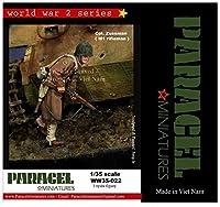パラセルミニチュア 1/35 第二次世界大戦 アメリカ軍 射撃地点へと移動するライフルマン スズマン兵長 レジンキット WW35-022
