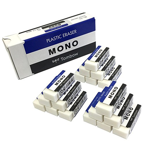 トンボ鉛筆 消しゴム MONO モノボックス 18個入 JHA...