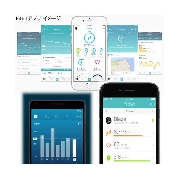 【日本正規代理店品】Fitbit 心拍計+フィ...の紹介画像3