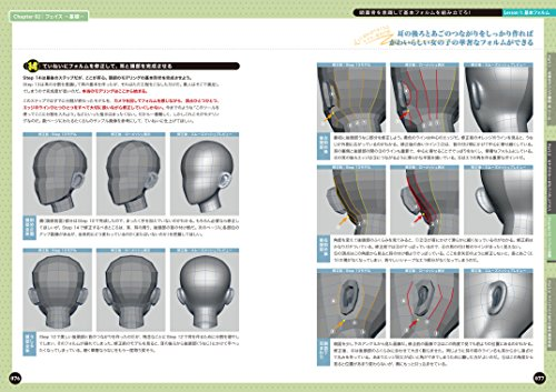 Autodesk Mayaキャラクターモデリング造形力矯正バイブル -へたくそスパイラルからの脱出! ! -