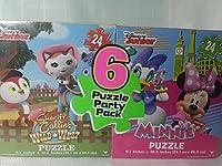 ディズニープリンセスパズルパーティー6パック