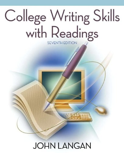Download College Writing Skills with Readings 0073384089