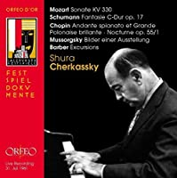Sonate, Fantasie, Excursions, etc. by Shura Cherkassky (2013-11-19)