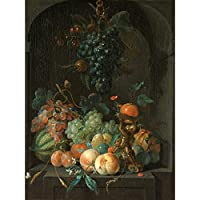 Coenraet Roepel Still Life With Fruit Painting Large Wall Art Poster Print Thick Paper 18X24 Inch まだ生活フルーツペインティング壁ポスター印刷