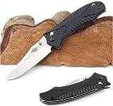 GANZO 火鳥 - 合金 G10グラスファイバー 滑り止 折りたたみナイフ 直刃, プレミアム品質, F710