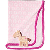 Hudson Baby Coral Fleece 3D Animal Blanket, Pink (Discontinued by Manufacturer) by Hudson Baby