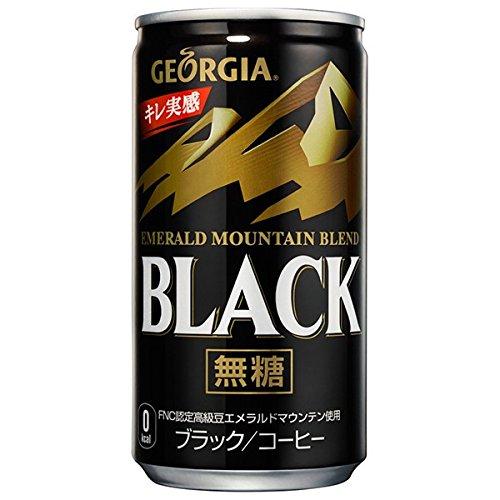 ジョージア エメラルド マウンテン ブレンド ブラック (185g×30本)×2ケース