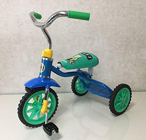 ベアーズ豆ダッシュ三輪車 ブルー