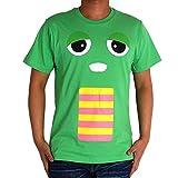 ガチャピン ムック Tシャツ 半袖 メンズ レディース キャラクター GEA2302 L グリーンA53