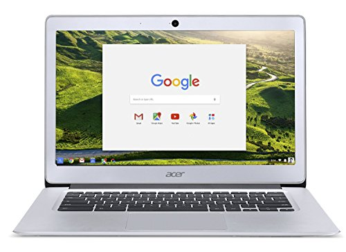 Acer Chromebook 14 Aluminum 14インチ Full HD Intel Celeron Quad-Core N3160 4GB LPDDR3 32GB Chrome エイサー クロームブック アルミ製フルメタルボディ 12時間連続駆動 [並行輸入品]