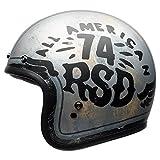 BELL ベル CUSTOM 500 SE RSD 74 Helmet 2017モデル ヘルメット ブラック/シルバー XXL(63~64cm)