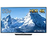 LG 55V型 4K 有機EL テレビ ドルビービジョン対応 外付けHDD録画対応(裏番組録画) Wi-Fi内蔵 ドルビーアトモス対応 1ウェイ2スピーカー 20W OLED55B8SJB