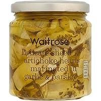 スライスしたアーティチョークの心の280グラム (Waitrose) - Sliced Artichokes Hearts Waitrose 280g