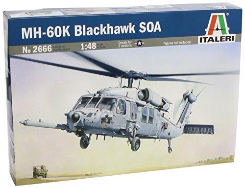 タミヤ イタレリ 1/48 飛行機シリーズ 2666S シコルスキー MH-60K ブラックホーク 38666