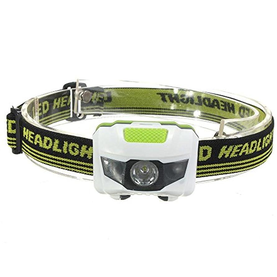 粒行方不明タヒチ超高輝度LEDヘッドライト スポットライト R3 2LED ミニヘッドランプ アウトドア用懐中電灯  4 モードあり 超高輝度懐中電灯