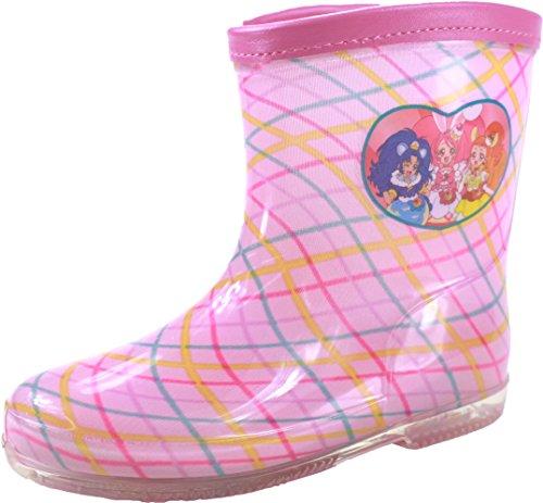 (キラキラ プリキュア アラモード) PRECURE 5004 子供 キッズ ジュニア 長靴 レインブーツ (16.0cm, ピンク)