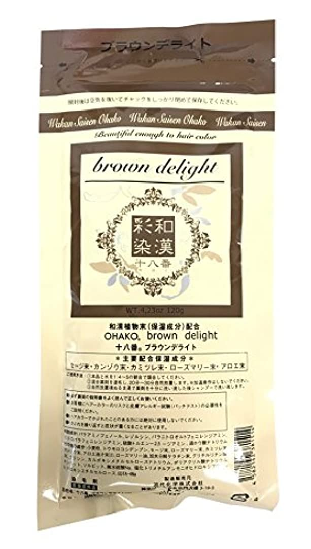 水を飲むグリップ栄養グランデックス 和漢彩染 十八番 120g ブラウンデライト