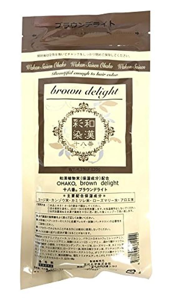 スポンジ見捨てられたギネスグランデックス 和漢彩染 十八番 120g ブラウンデライト