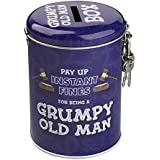 Westminster Grumpy Old Man Fines Money Tin Coin Bank