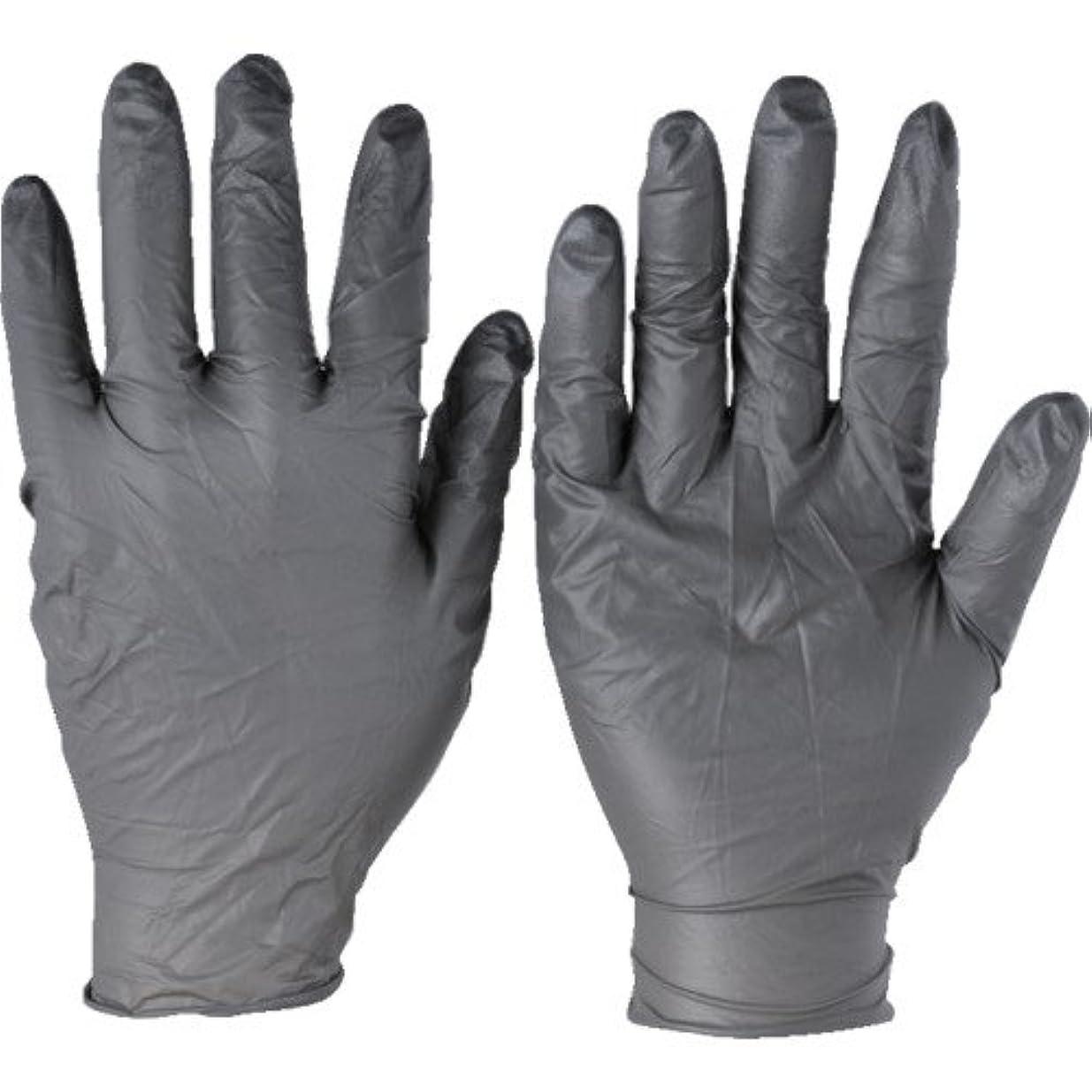 シーボード非難するなすトラスコ中山 アンセル ニトリルゴム使い捨て手袋 タッチエヌタフ 粉無 XLサイズ100枚入 9325010