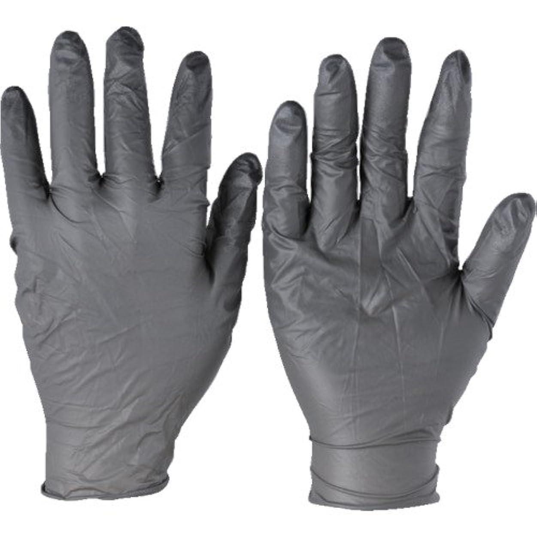 荒れ地優越剛性トラスコ中山 アンセル ニトリルゴム使い捨て手袋 タッチエヌタフ 粉無 Sサイズ 100枚入 932507