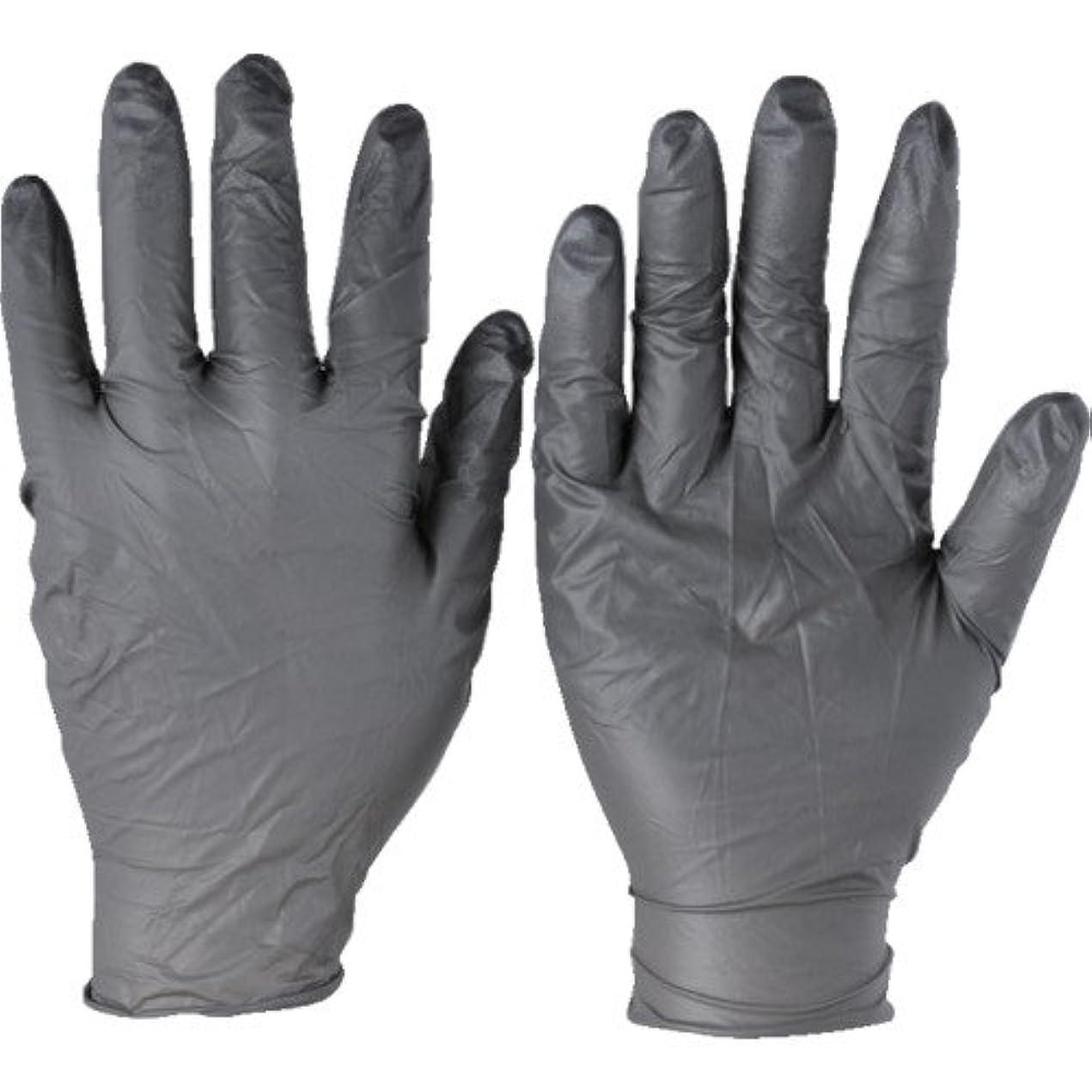 手段湿地マガジントラスコ中山 アンセル ニトリルゴム使い捨て手袋 タッチエヌタフ 粉無 Mサイズ 100枚入 932508