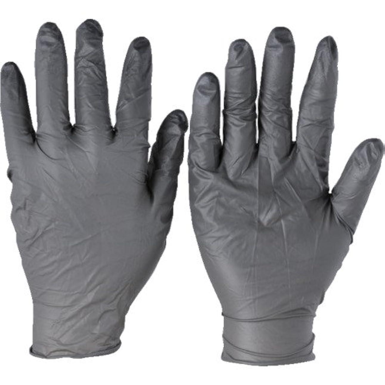 現れる国内の殺しますトラスコ中山 アンセル ニトリルゴム使い捨て手袋 タッチエヌタフ 粉無 XLサイズ100枚入 9325010