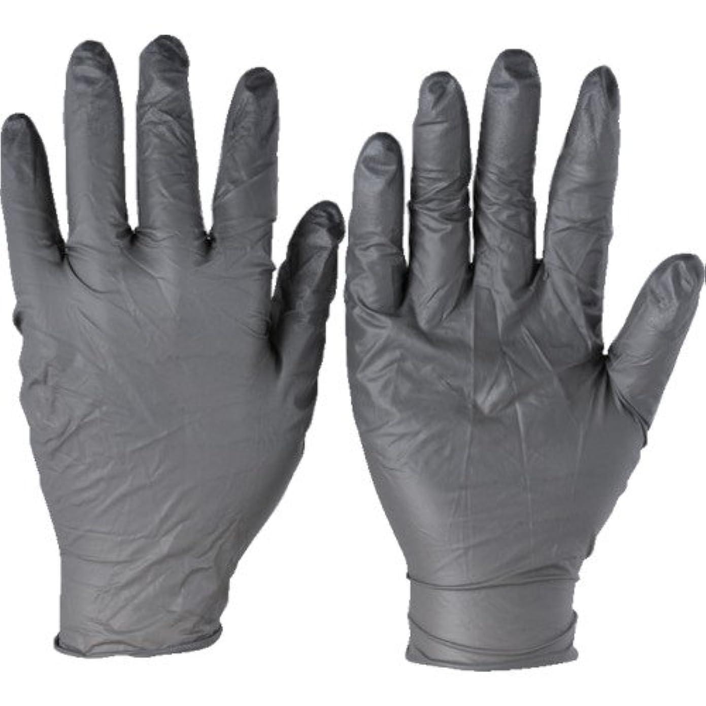 エッセンス眠いです登録するトラスコ中山 アンセル ニトリルゴム使い捨て手袋 タッチエヌタフ 粉無 Mサイズ 100枚入 932508