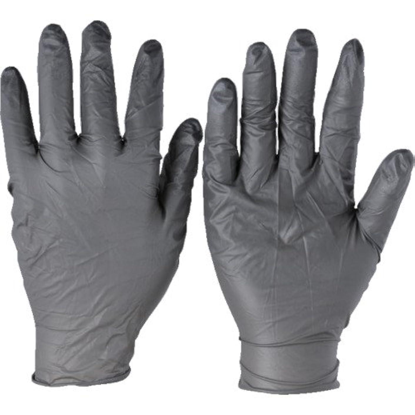ドル困った医薬品トラスコ中山 アンセル ニトリルゴム使い捨て手袋 タッチエヌタフ 粉無 XLサイズ100枚入 9325010