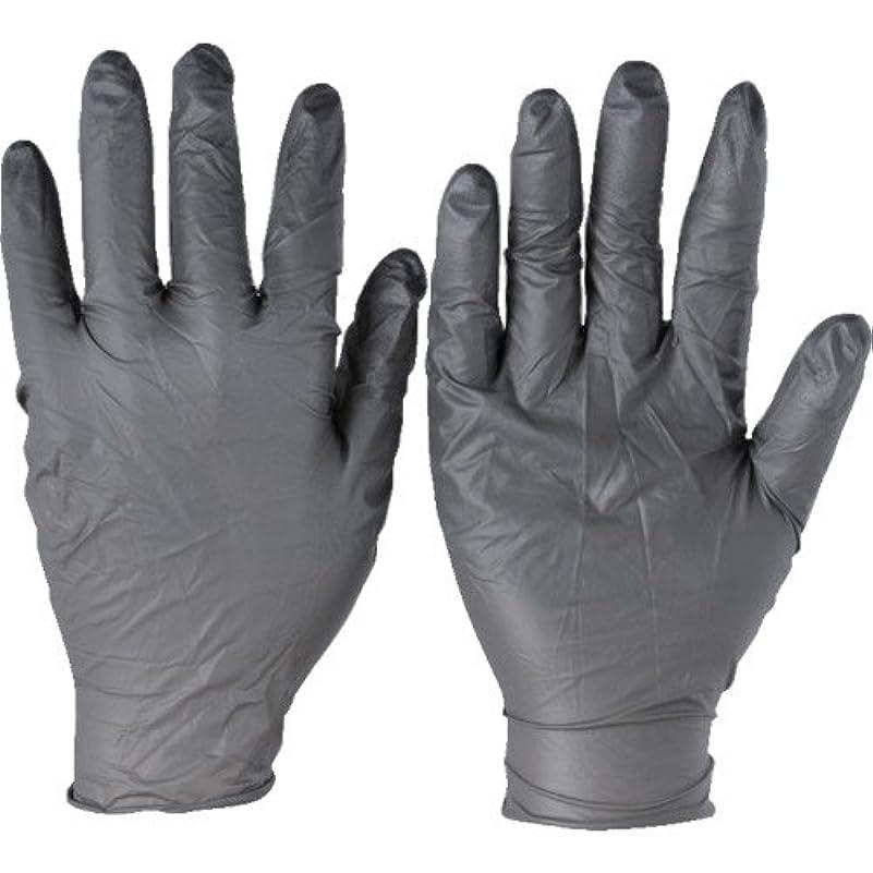 アリーナ快適隔離するトラスコ中山 アンセル ニトリルゴム使い捨て手袋 タッチエヌタフ 粉無 Sサイズ 100枚入 932507