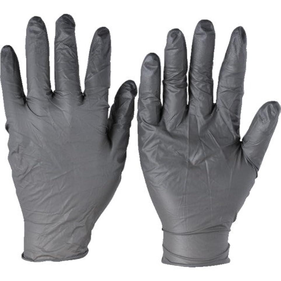 トラスコ中山 アンセル ニトリルゴム使い捨て手袋 タッチエヌタフ 粉無 Mサイズ 100枚入 932508