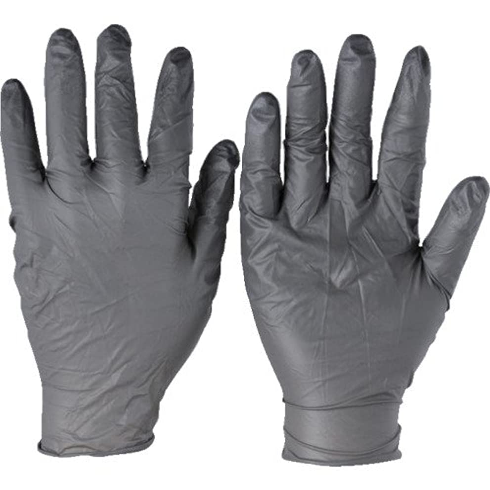 シンカンこだわり植物学トラスコ中山 アンセル ニトリルゴム使い捨て手袋 タッチエヌタフ 粉無 XLサイズ100枚入 9325010