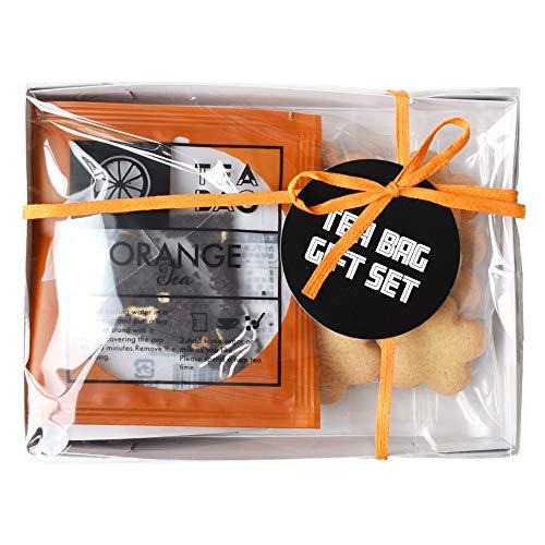 クッキー&紅茶 プチギフトセット プライム 【 オレンジティー・メープルクッキー 】