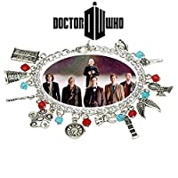 Dr。Who 11ロゴチャームToggle Clasp Bracelet inギフトボックスからOutlander