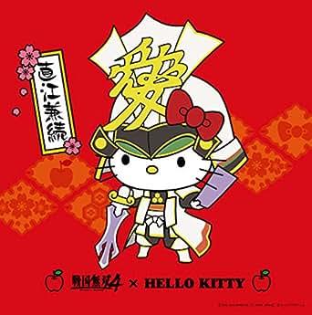 戦国無双4 × HELLO KITTY クリーナークロス 桜 直江兼続