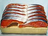 【ロシア産】塩紅鮭切身12切入り (辛塩)