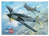 ホビーボス 1/18 エアクラフトシリーズ ドイツ軍 フォッケウルフ Fw190A-5 プラモデル 81802