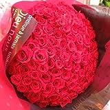 プロポーズ プリザーブドフラワー花束  赤バラ 100本 花束 プロポーズ・記念日のフラワーギフト おすすめ